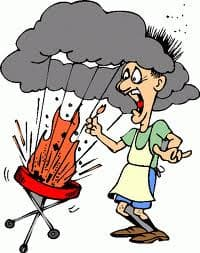 How do I use my BBQ safely in the summer? 3