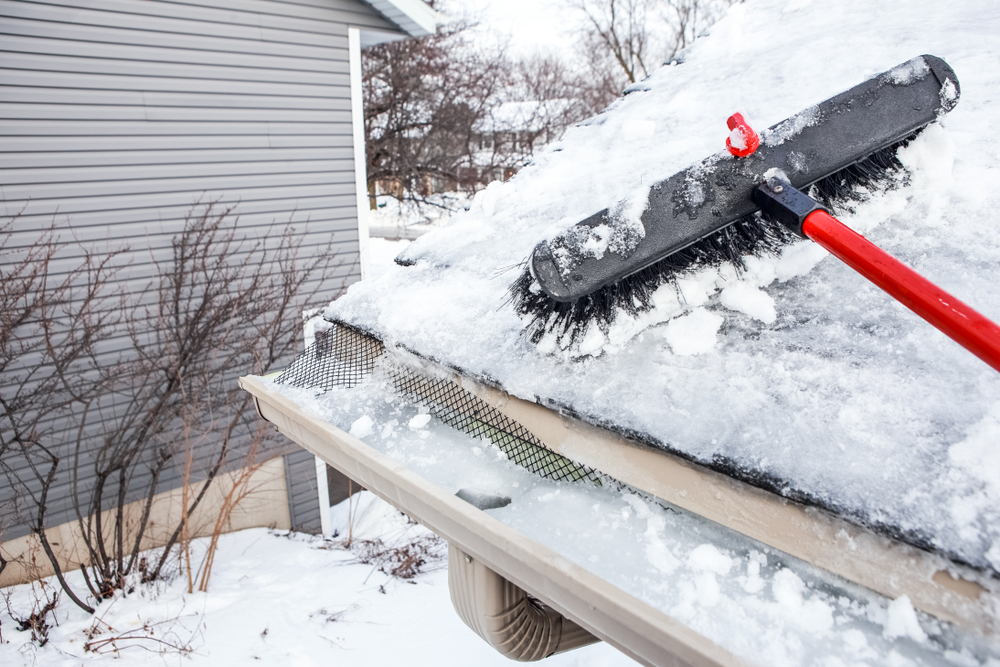 Home maintenance in Winter